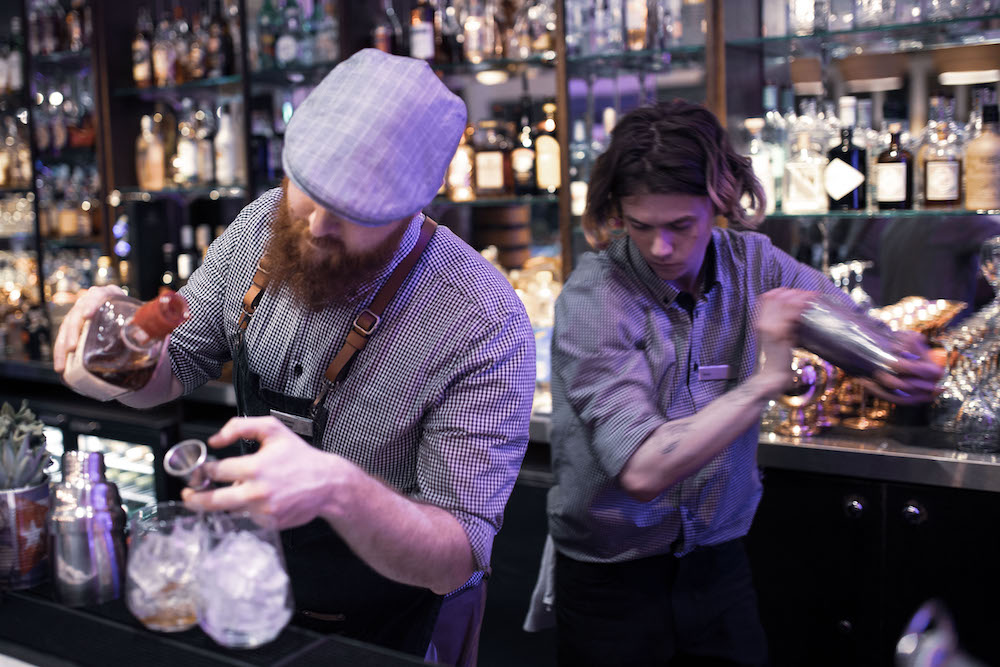 Hotel Jobs Brighton. Mixology team at the Metropole Bar