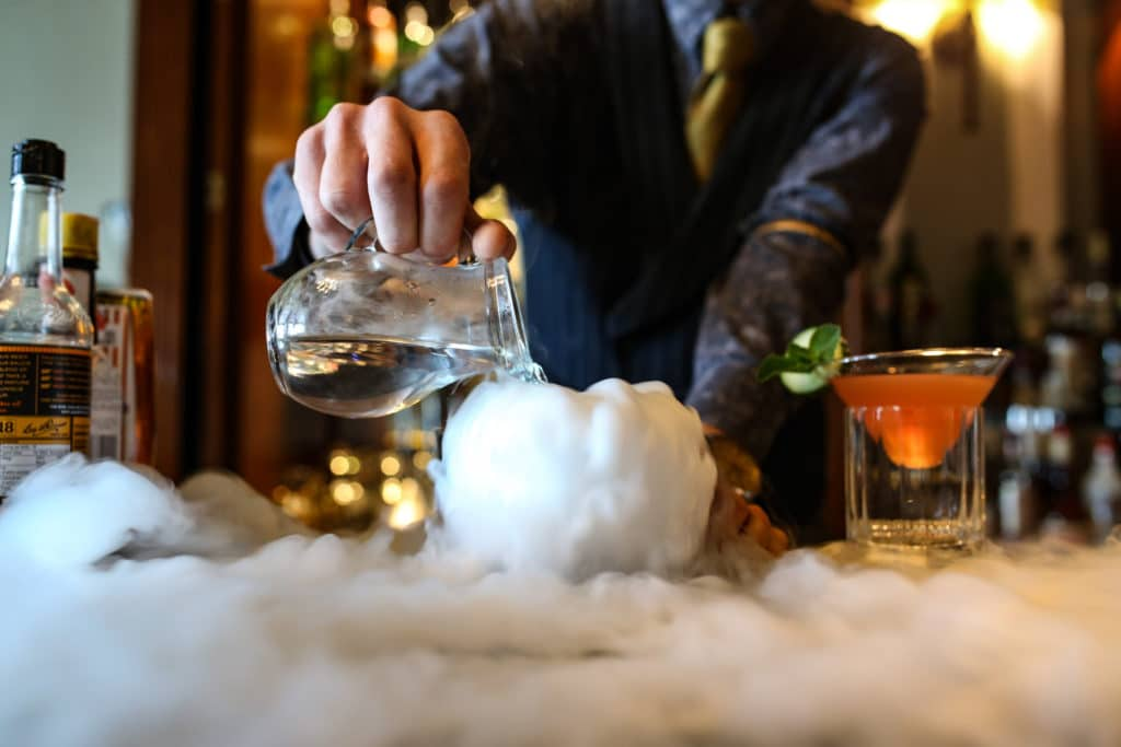 Jobs in Brighton, cocktail bar tender at the Grand Hotel