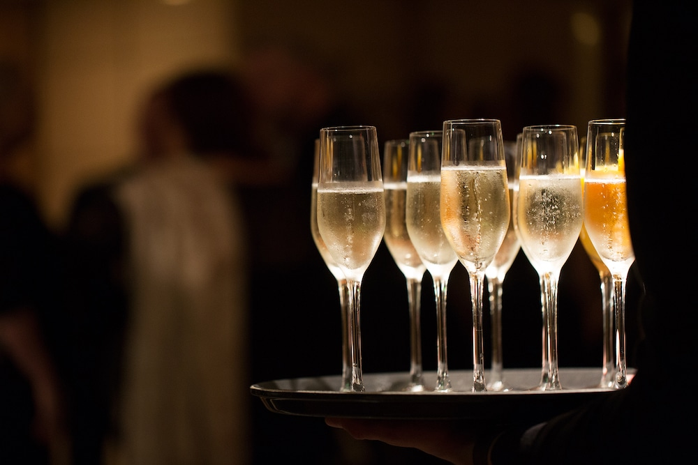 Part time jobs Brighton, champagne at a conference and banqueting function