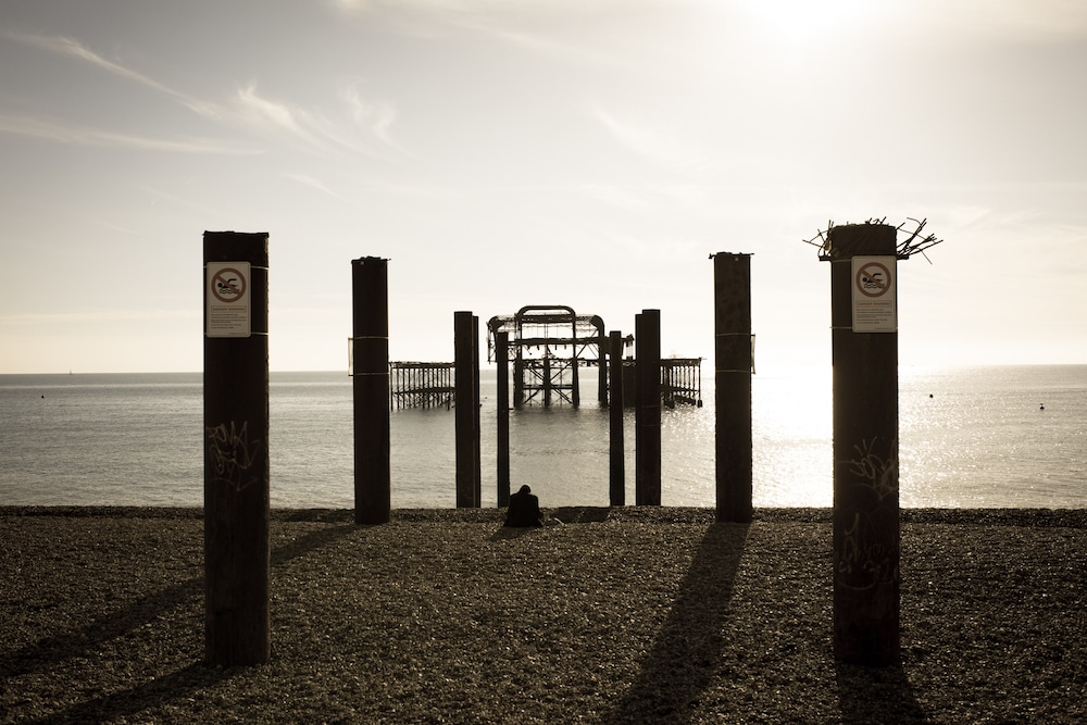 Summer Jobs Brighton. Pictured The West Pier