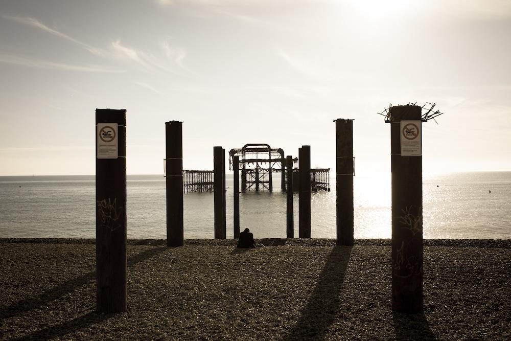 Summer Jobs Brighton. Pictured The West Pier