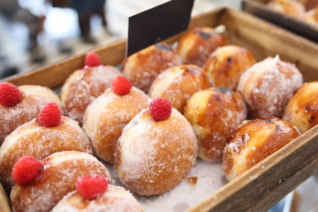 Donuts at the Flour Pot Bakery