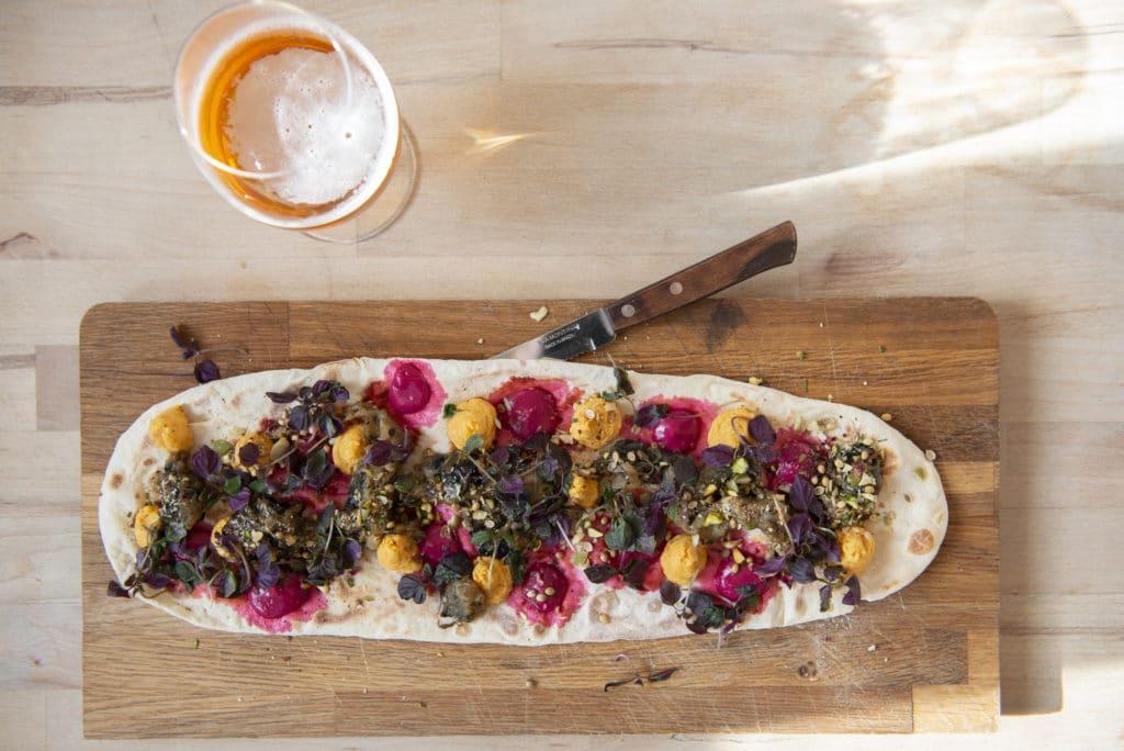 Sour dough pizza - Seasonal Chef Brighton Seafront