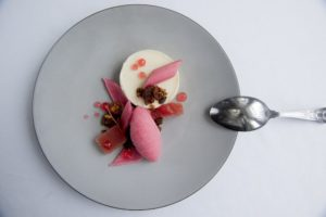 The Old Ship Hotel, Wardroom Restaurant, food on a plate