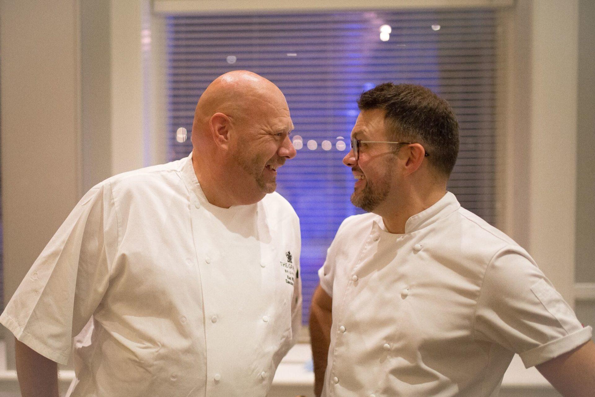 Alan White Chef at The Grand Hotel Brighton