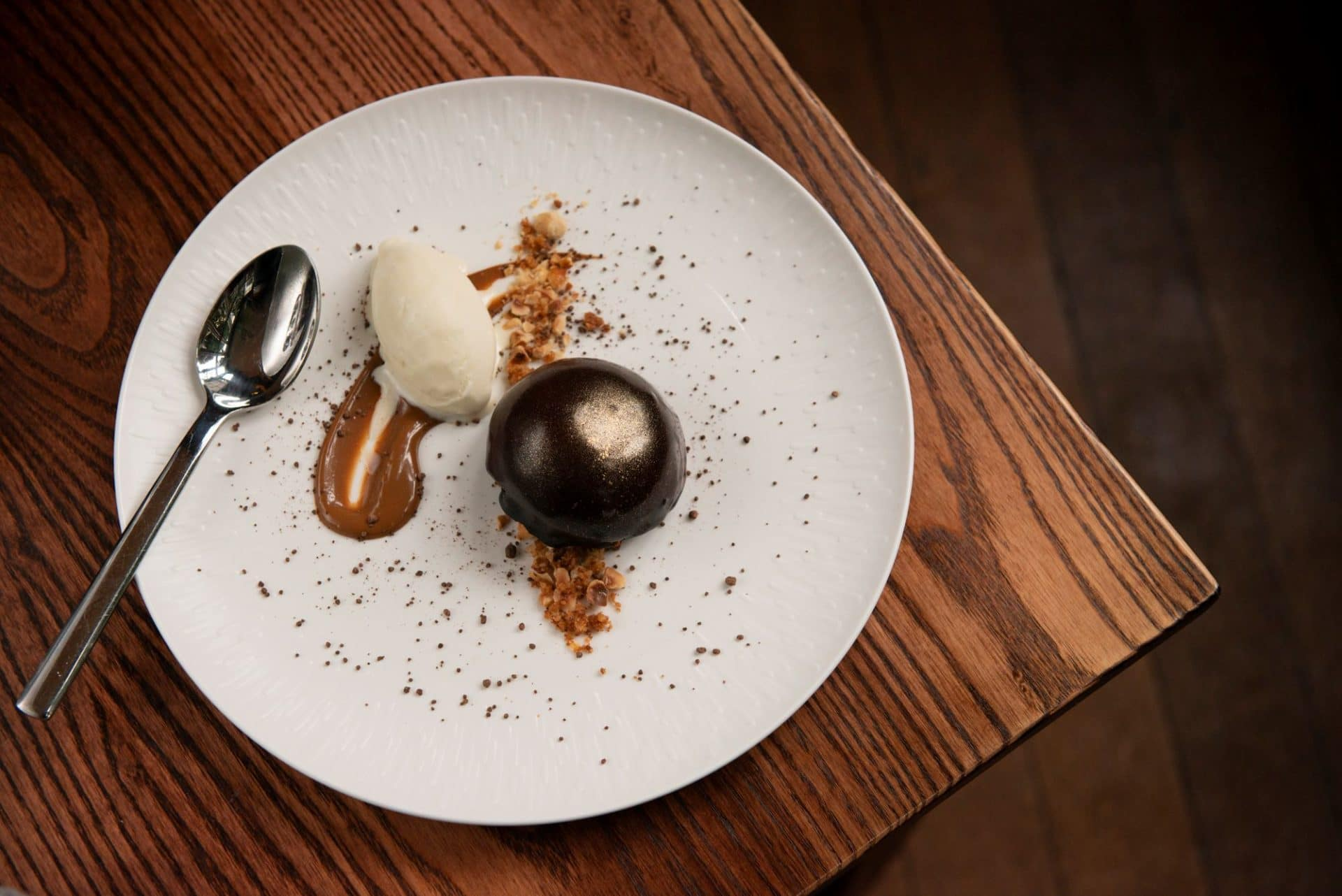 Chocolate dessert Phil Bartley