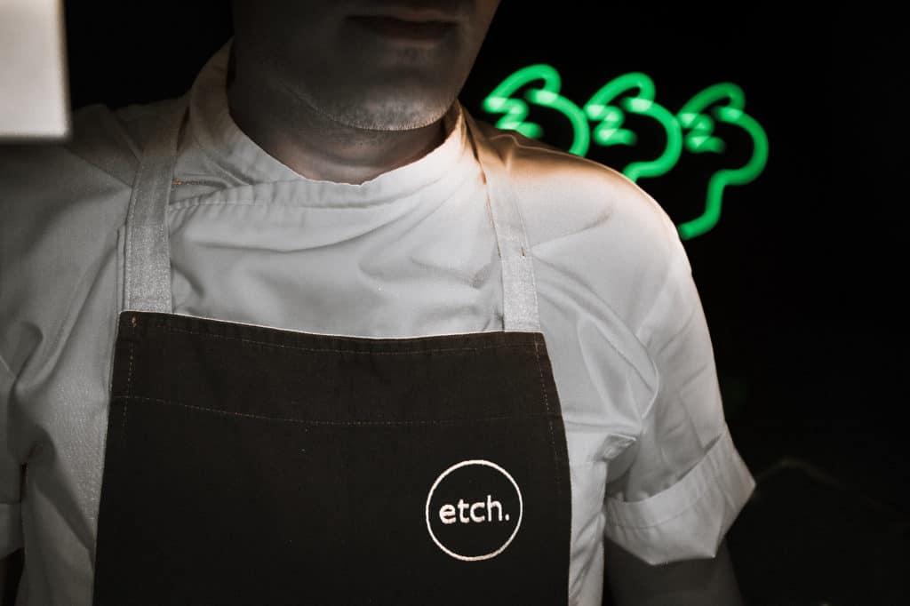 etch apron