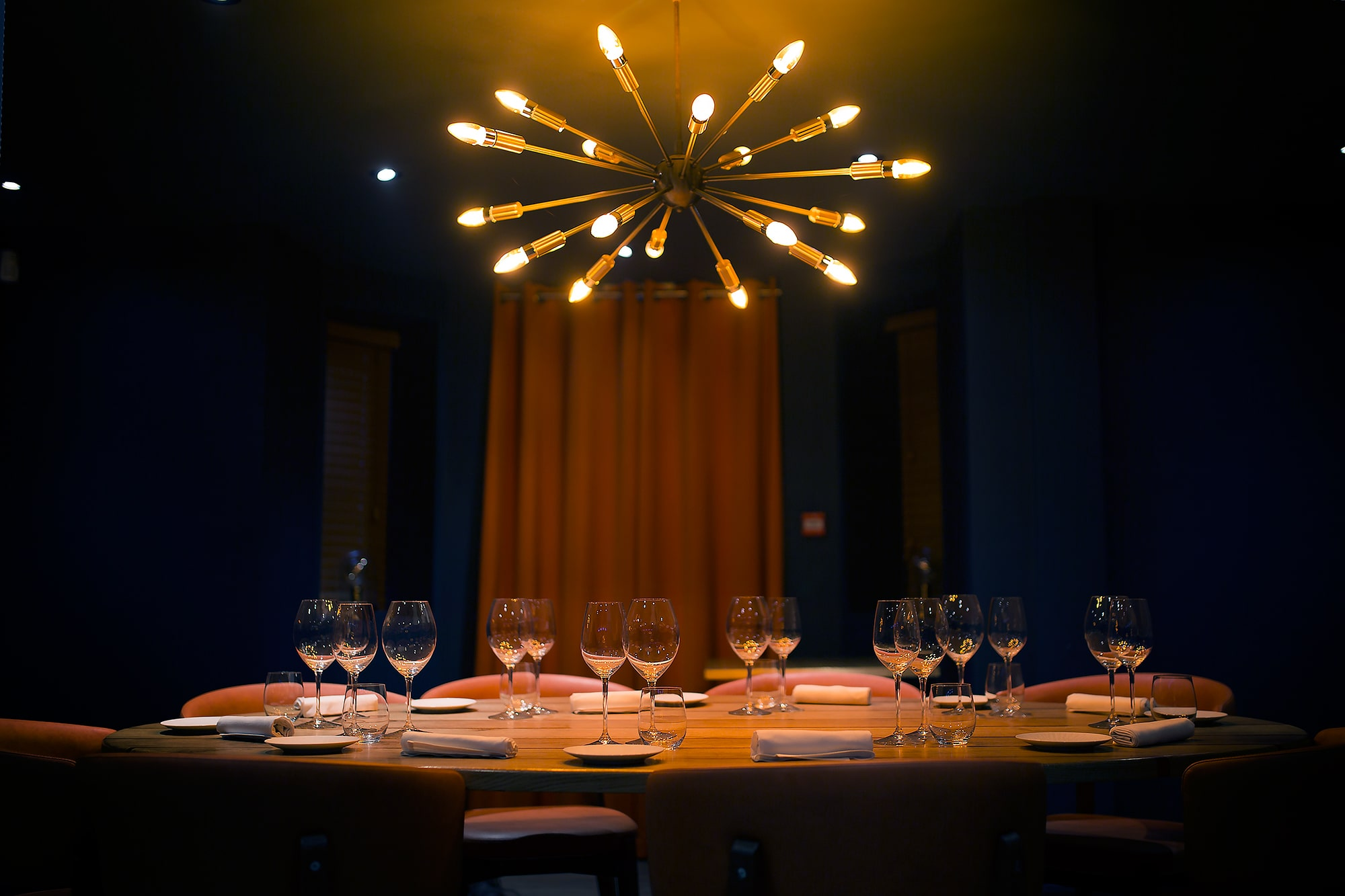 Private dining room at etch