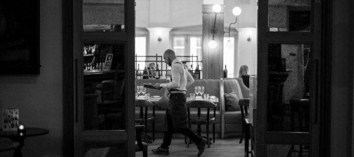 Waiter at Hotel Du Vin Brighton