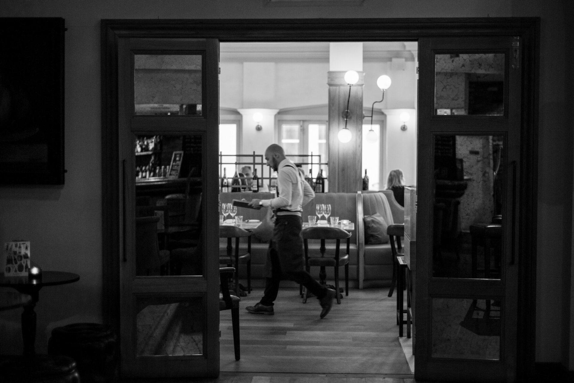 Waiter at Hotel Du Vin Brighton