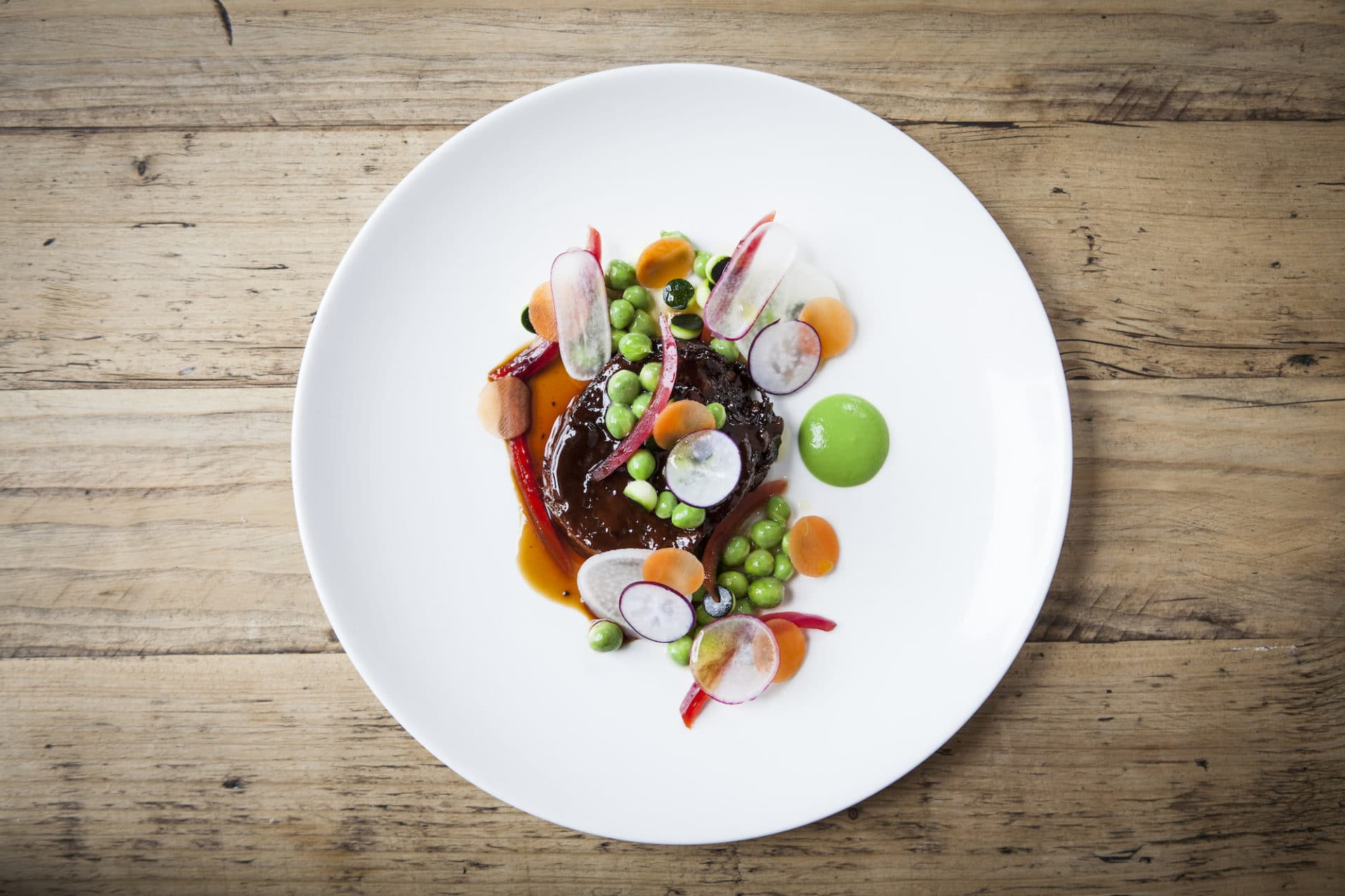 Ox Tongue Dish by Michael Bremner at 64 Degrees
