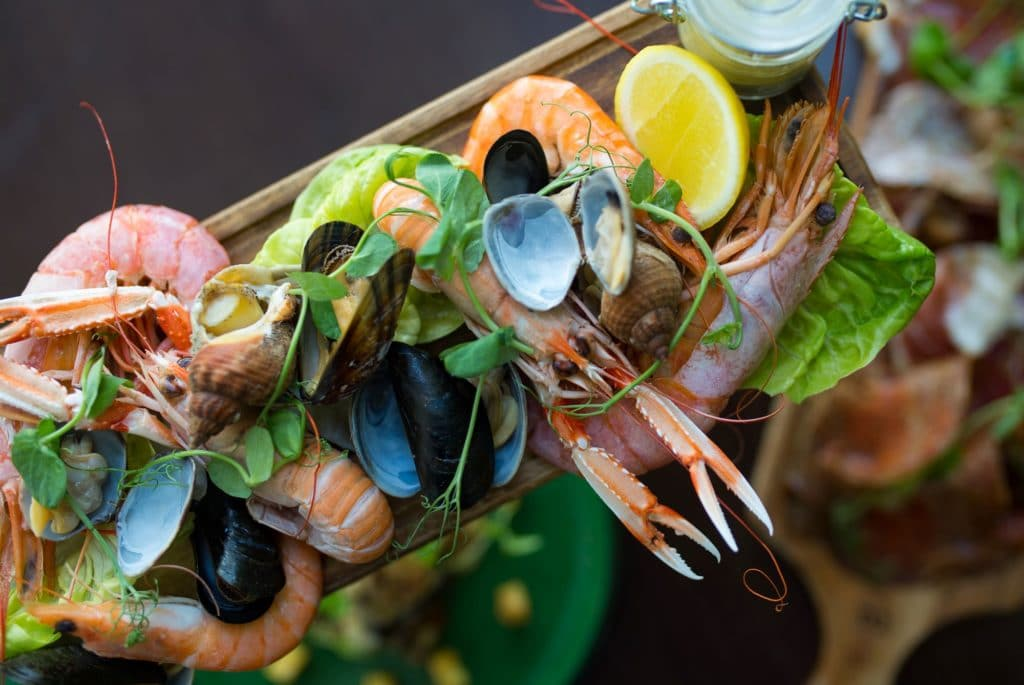 Seafood at The Grand Hotel Brighton