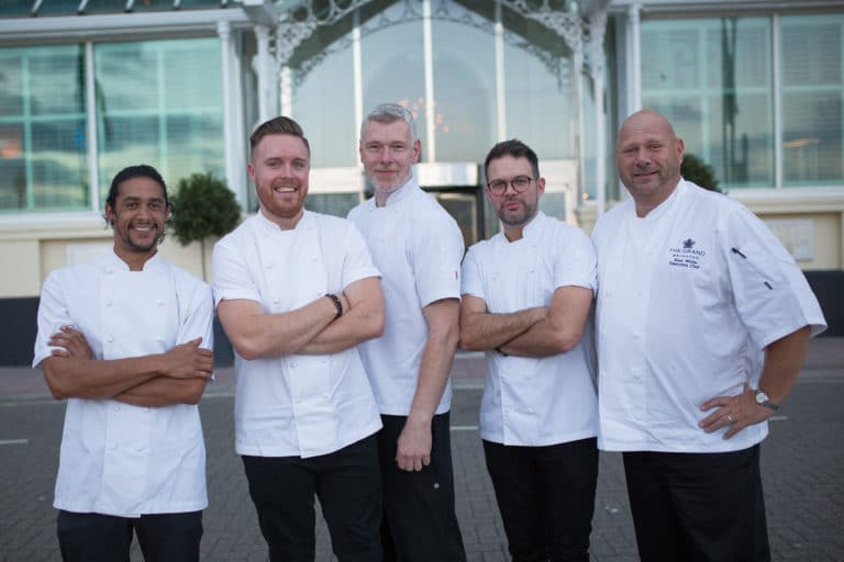 Steven Edwards at Brighton Chefs Table