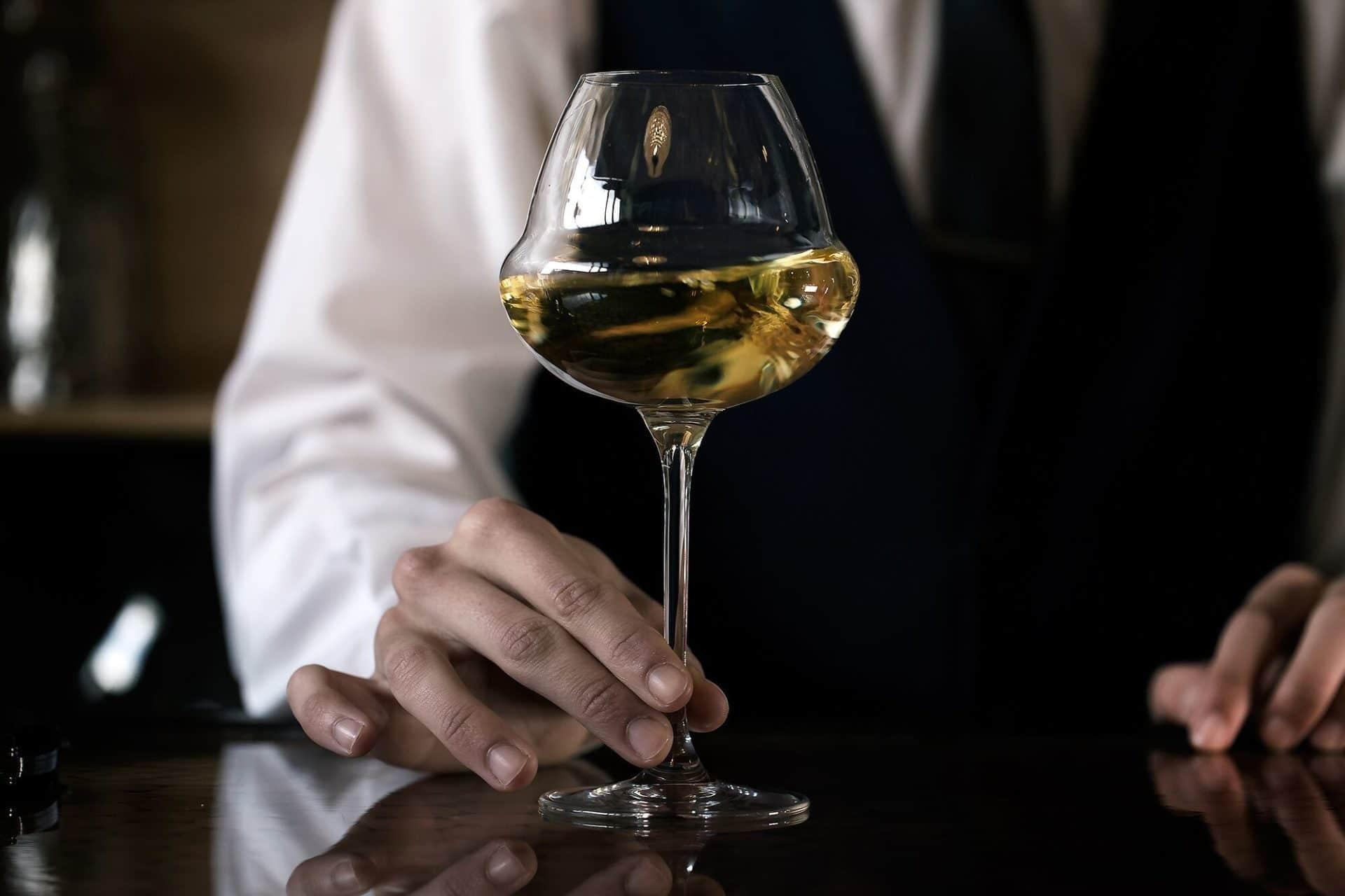 Sommelier At Latelier Du Vin