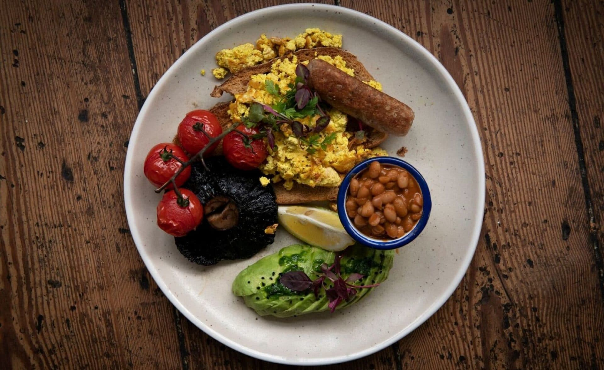 English Breakfast Brighton foodie