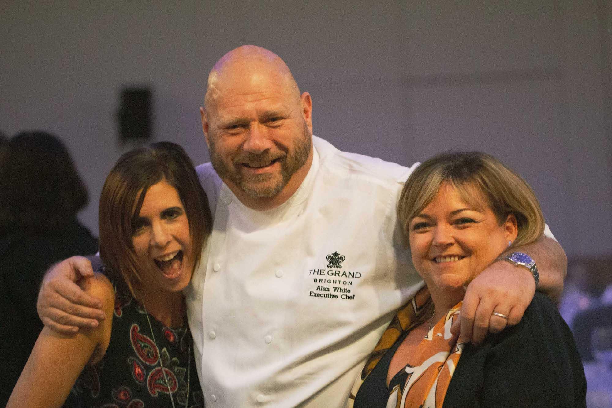Chef Alan White at Brighton Chefs Table