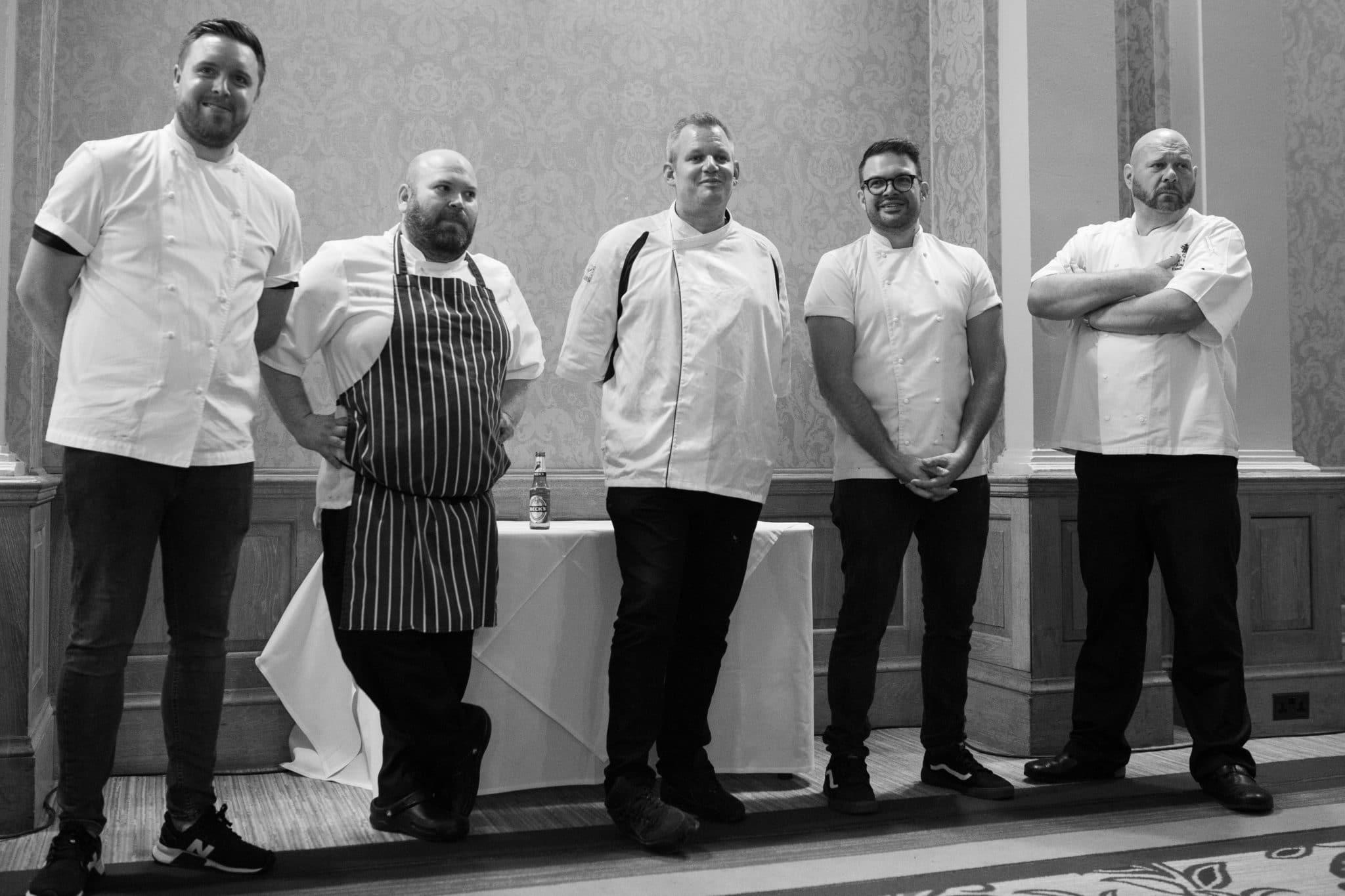 Brighton Chefs Table 2019 - Duncan Ray, Kenny Tutt, Alan White, David Marrow, Steven Edwards