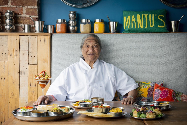 Chef Manju, 83 years old, Indian Restaurant Brighton