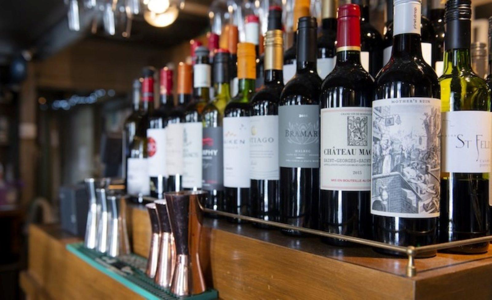 TheNewInn Bar Staff Wines