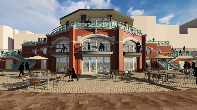Architect's impression of Shutter Hall Brighton