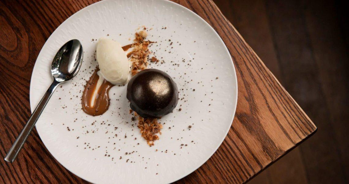 Chocolate dessert Phil Bartley