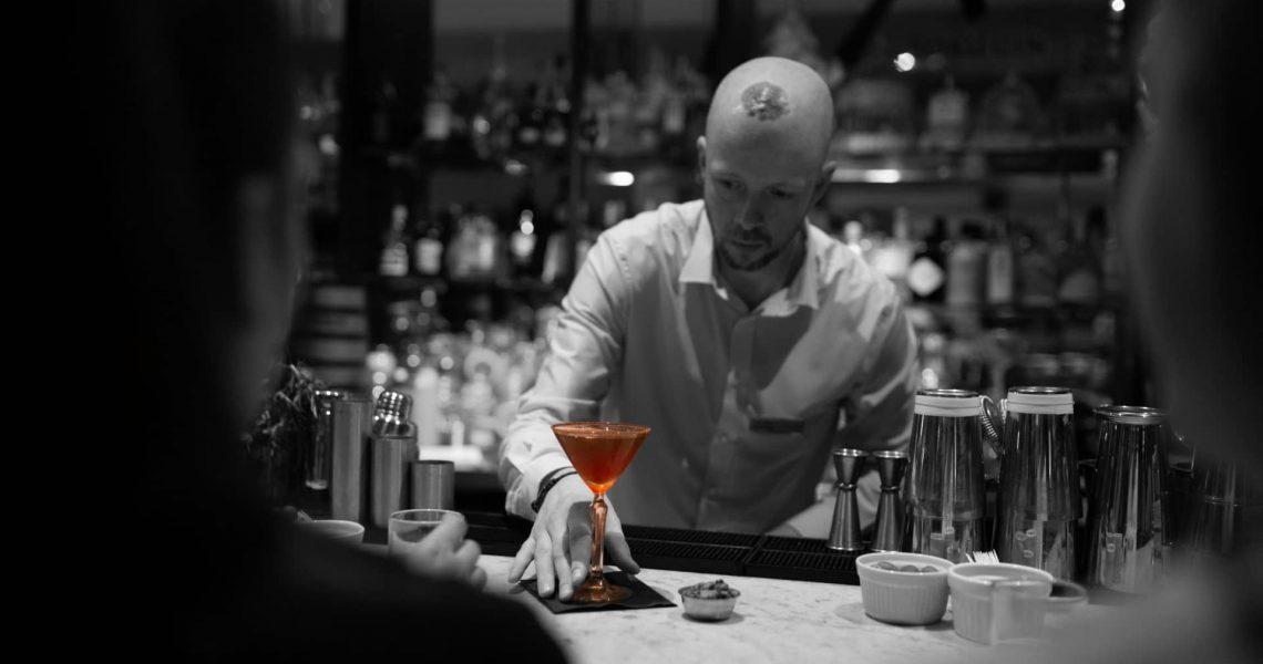 Stlish cocktail shot, Matt Otley