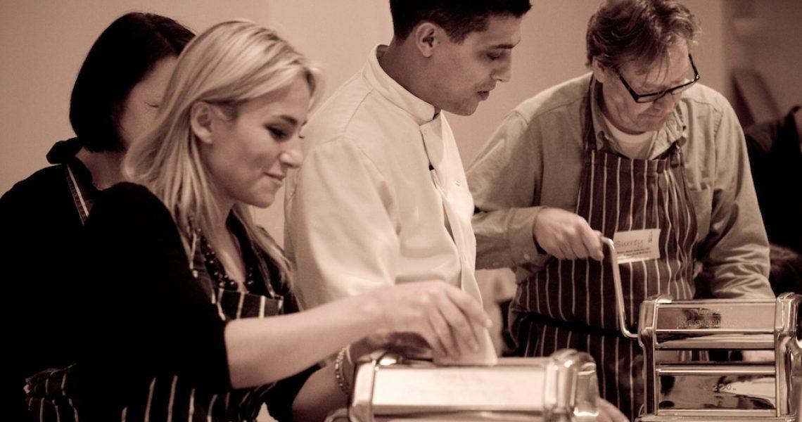 Chef Messa Ben at Brighton Cookery School