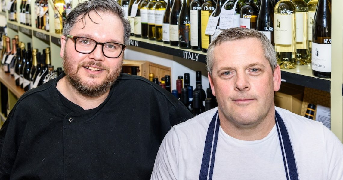 Sam Pryor and Paul Morgan - Owners of Fourth and Church