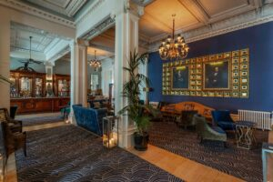 The Grand Hotel hall