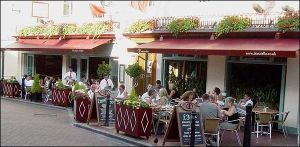 Donatello Brighton - Italian Restaurant, Pizza, Pasta, Market Street Brighton