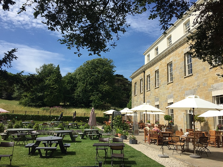Proud Country House, Stanmer Park, alfresco, restaurant, Brighton - Places to Eat in Brighton
