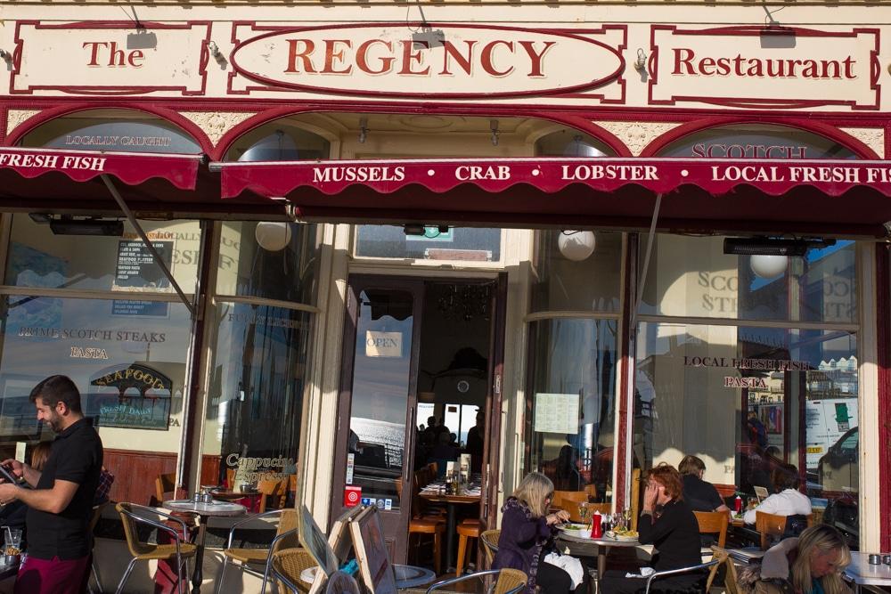 regency restaurant brighton seafood fish and chips on. Black Bedroom Furniture Sets. Home Design Ideas
