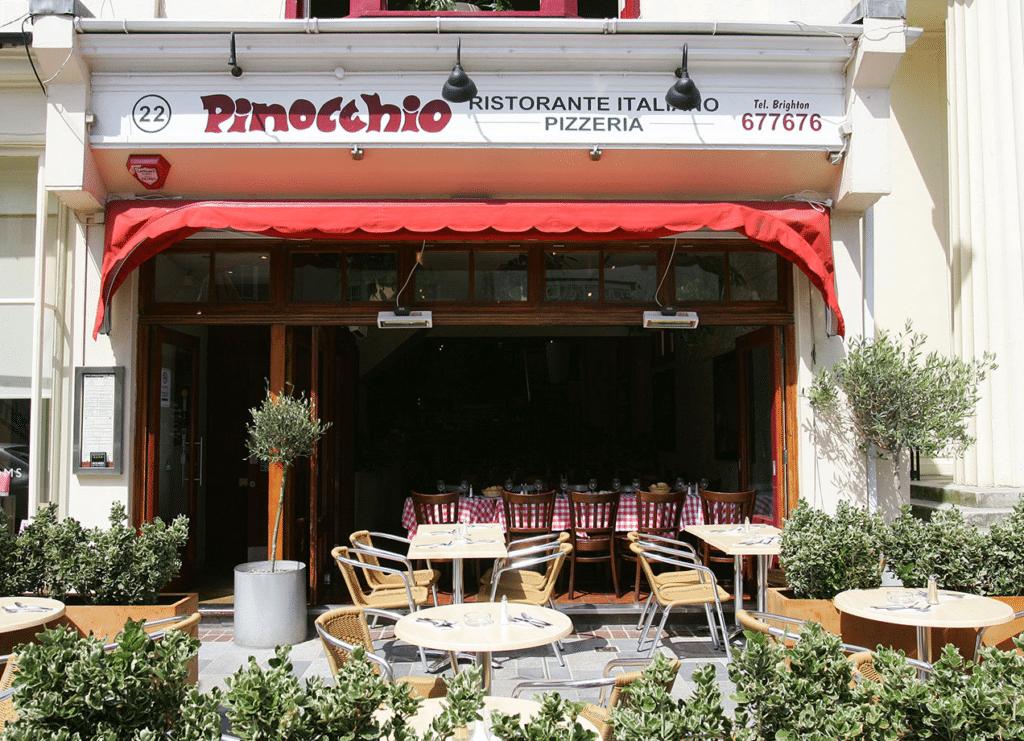 Outside of Pinocchio
