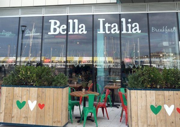 Bella Italia, Brighton Marina Restaurant