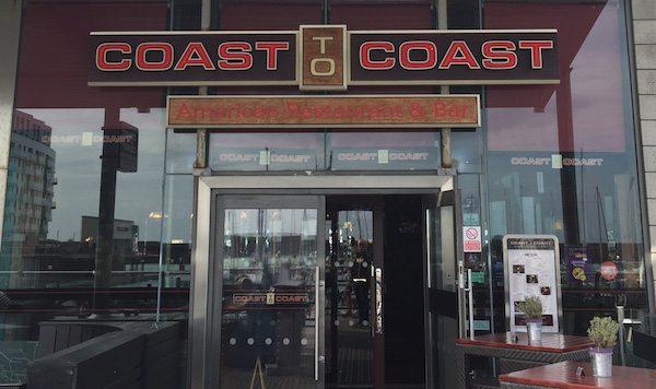 Coast to Coast, Brighton MArina Restauarnt