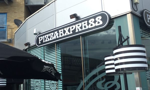 Pizza Express, Brighton Marina Restauarnt