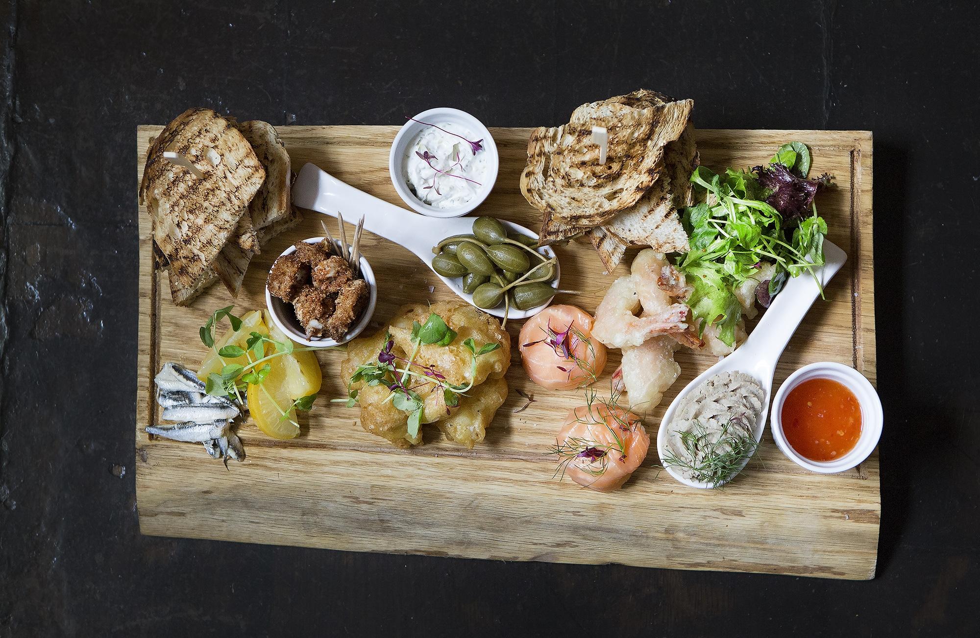 Seafood Platter - The Black Lion Pub, Brighton