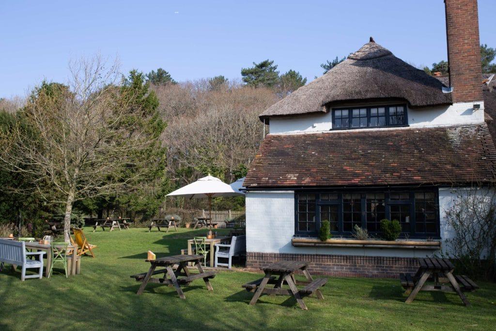 The Ginger Fox Garden in Albourne, Sussex