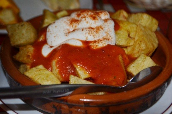 Patatas Bravas at Casa Don Carlos