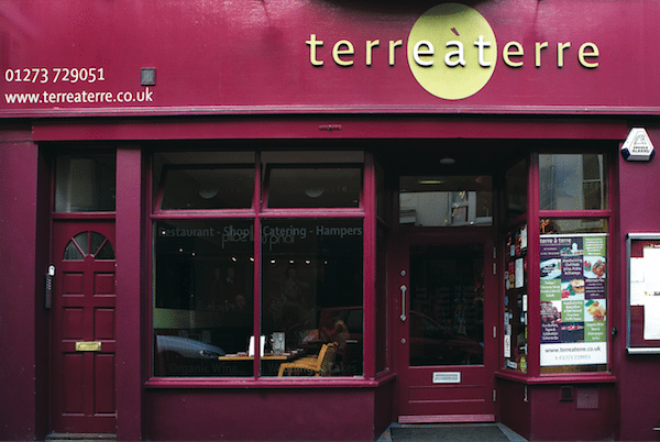 Terre à Terre, vegetarian restaurant, Brighton, award winning