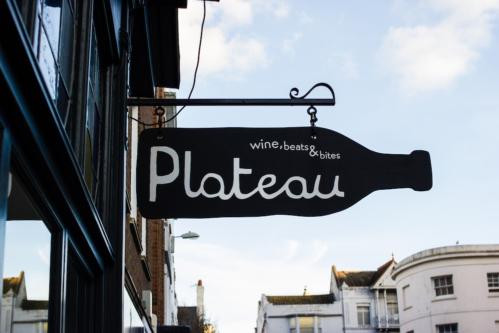 Outside Plateau Brighton