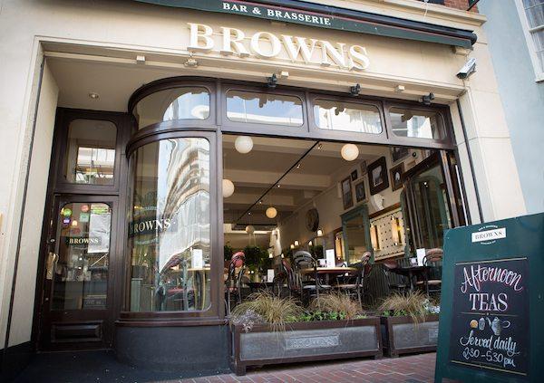 Browns Restaurant, Brighton