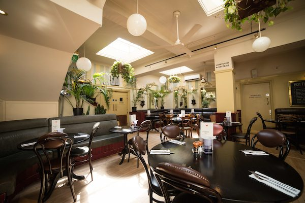 Cafe Bar Preston Menu