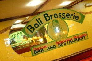 The Bali Brasserie, Restaurant, Hove, Malaysian, Indonesian