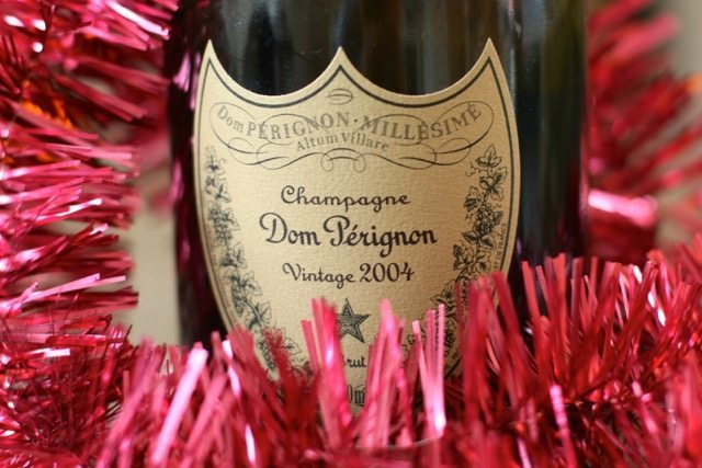 Dom Perignon Champagne Bottle - Christmas Parties in Brighton - Christmas Food Facts
