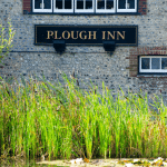 The Plough Inn, on the Pond. Rottingdean, Sussex