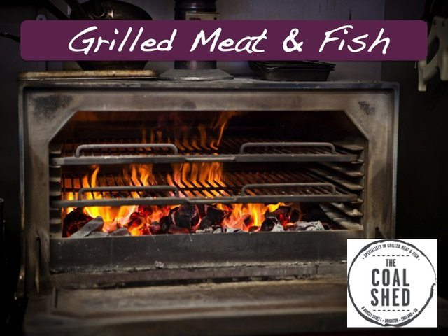 Grilled Meat and Fish Brighton - The Coal Shed Restaurant