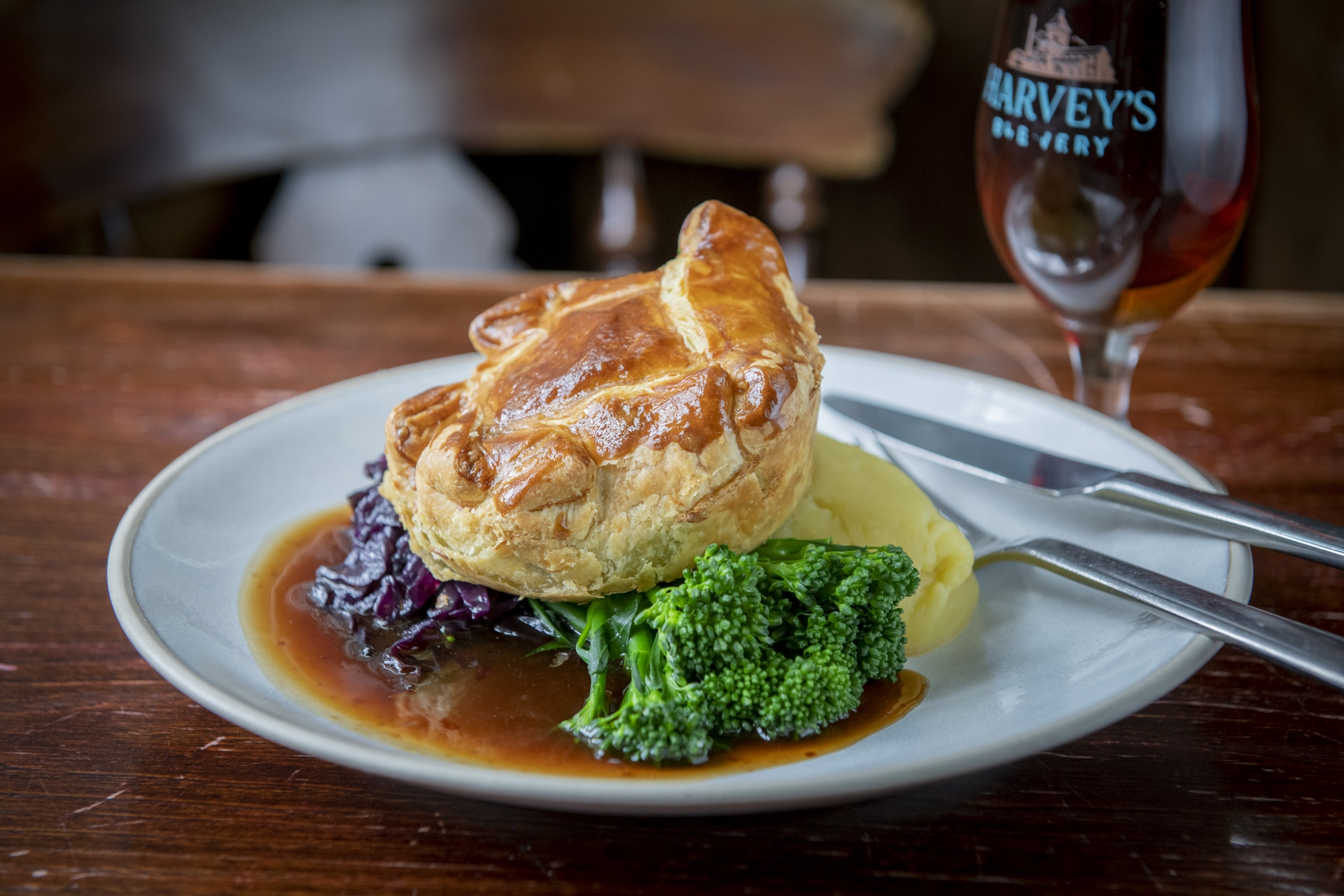 Pie roast The Plough in Rottingdean