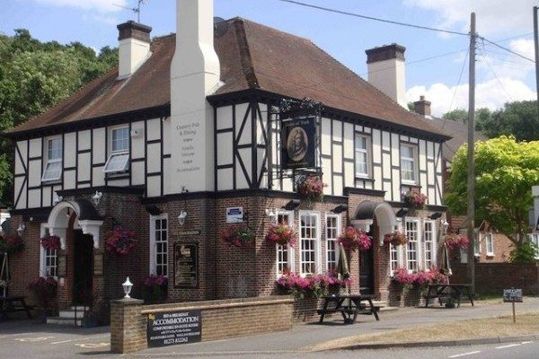 The Duke of York pub, Hassocks, Sayers Common