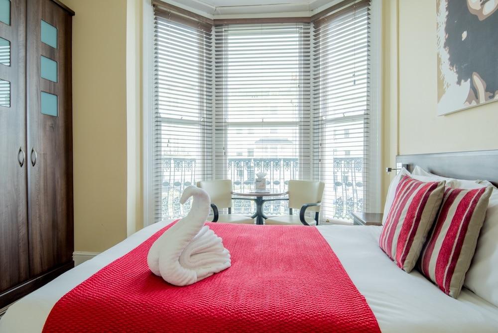 Hotel room at New Steine Hotel Brighton